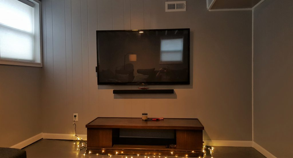 cordless tv install