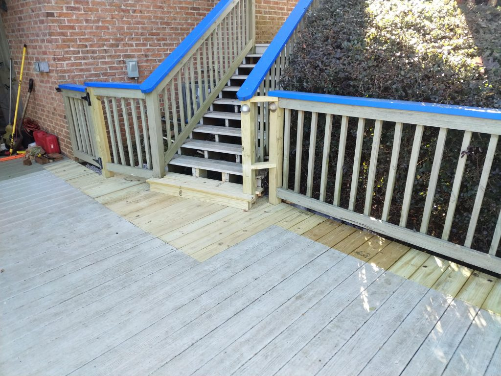 extensive deck repair