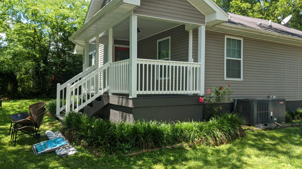 foundation/deck painting